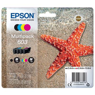EPSON Multipack Etoile Expression Home Noir Cyan Magenta Jaune 603